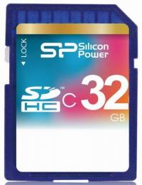 Silicon Power SD 32GB SP032GBSDH006V10, class6
