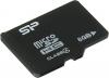 Silicon Power SP008GBSTH004V10, microSDHC 8GB class4 (без адаптера)