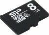 Silicon Power SP008GBSTH010V10, microSDHC 8GB class10 (без адаптера)